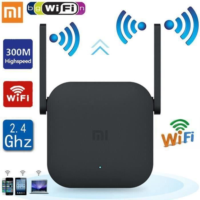 Routeur sans fil Xiaomi WiFi Pro 300MBPS WiFi Répéteur WiFi Signal 2.4G Extender
