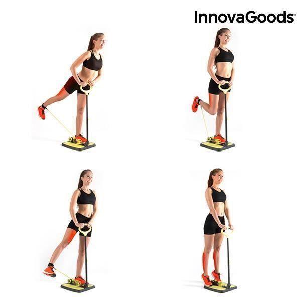 INNOVAGOODS Plateforme de fitness pour fessiers et jambes - Avec guide d'exercice