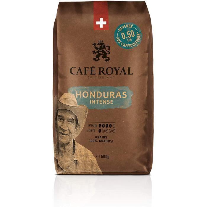 Café Royal Honduras Intense Café en Grains Intensité 4/5 - 500 g