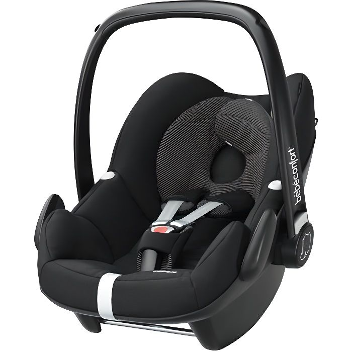 BEBE CONFORT Siège Auto Groupe 0+ Pebble Black Raven