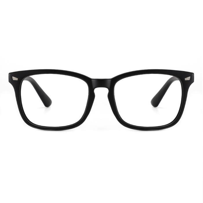 Cyxus Lunette anti Lumière bleue Lunette de Vue pour Ordinateur Monture de Lunettes Anti fatigue Oculaire Filtre UV Unisexe