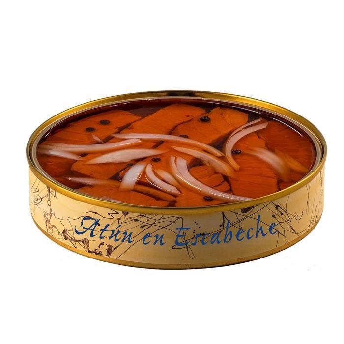 Thon mariné 280 grammes - Conserves de poisson El Ronqueo - Conserve gourmande artisanale à Barbate (Espagne)