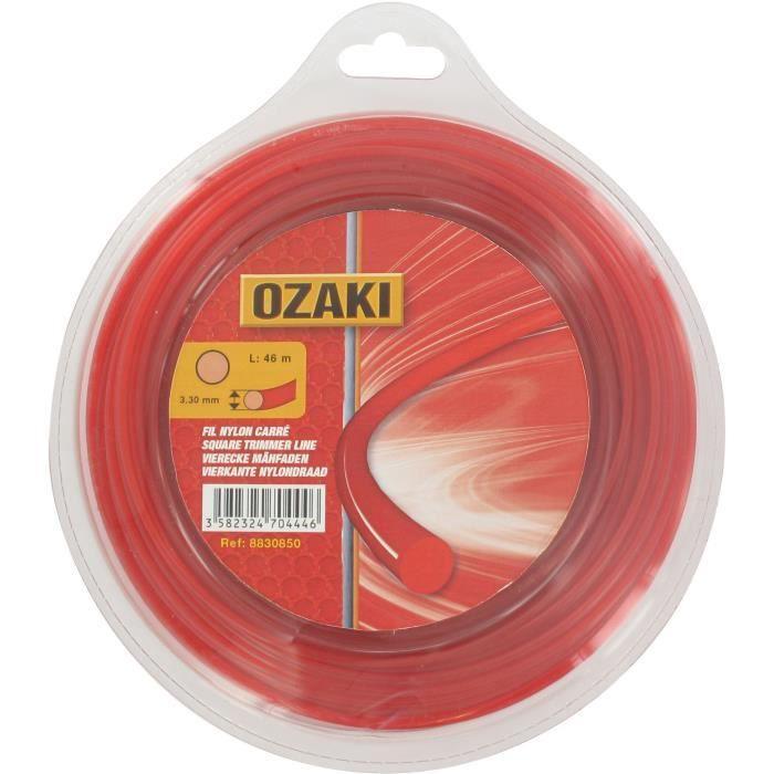 Coque fil nylon rond OZAKI - Longueur: 56m, Ø: 3,00mm