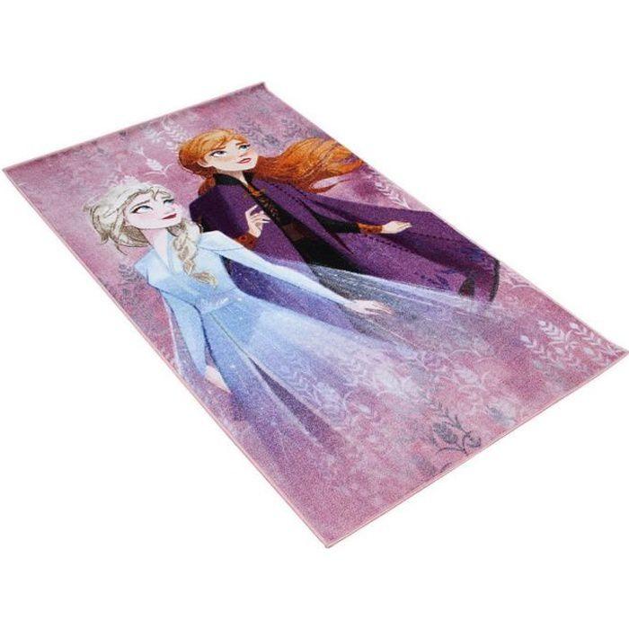 Tapis La Reine des Neiges 2 enfant 140 x 80 cm Disney GUIZMAX