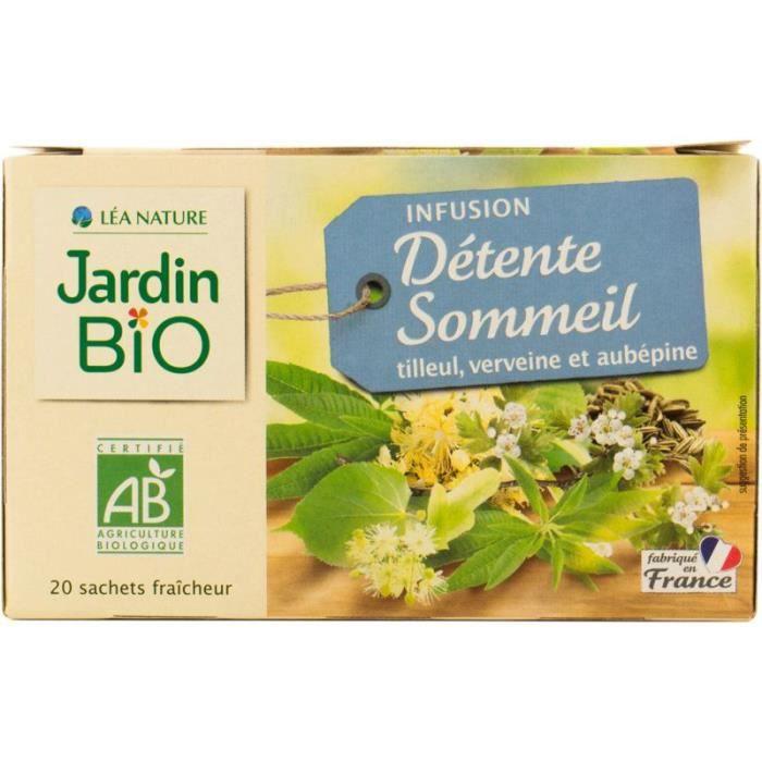 JARDIN BIO Infusion Détente et sommeil - Bio