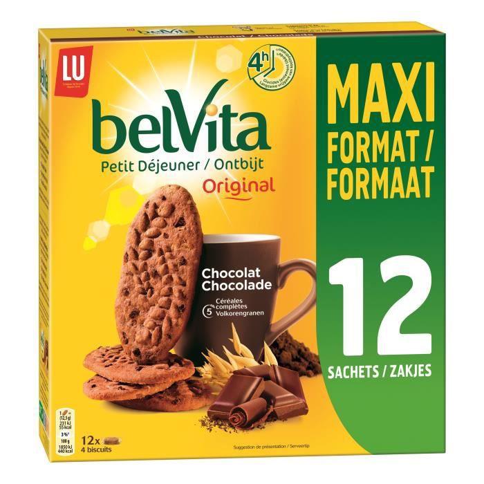 Belvita petit dejeuner chocolat - LU - 600 g