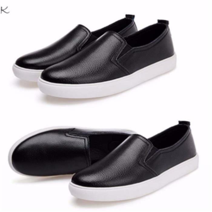 Chaussures Femmes ete Loafer Ultra Leger Chaussures BLKG-XZ052Noir38