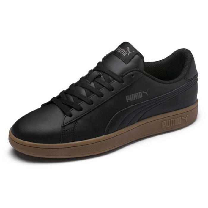 chaussures homme baskets puma smash v2 l. le puma smash v2 l est la nouvelle interprétation de l',icône puma smash. la silhouette