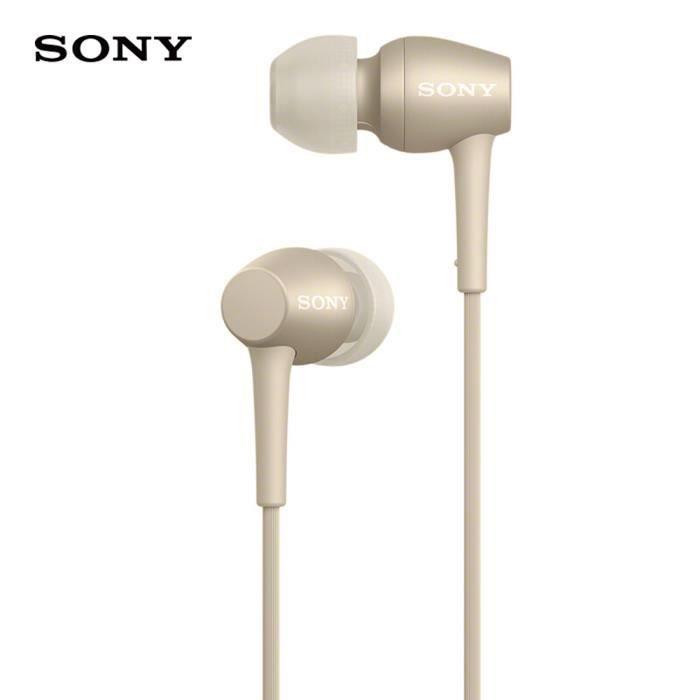 SONY IER-H500A Écouteurs intra-auriculaires 3.5mm avec fil Écouteurs stéréo pour musique Écouteur Smart Phone Casque mains li 1_Regi