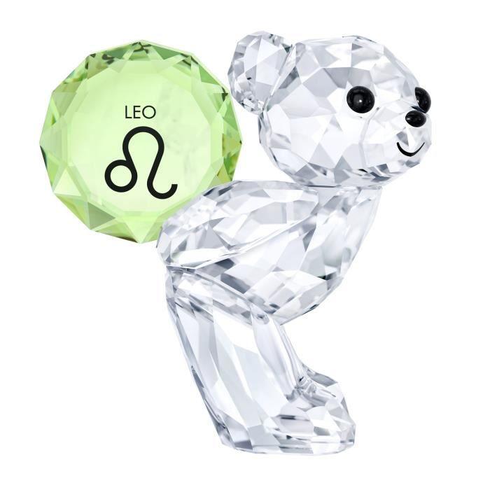 Bague - Anneau - Swarovski - Figurine Swarovski Ourson Kris Lion