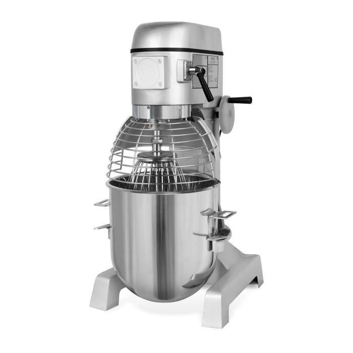 Vertes Pétrin a spirale avec Agitateur planetaire (40 Litre Bol de mélange, Moteur électrique de 2000 watts, Accessoires étendus)
