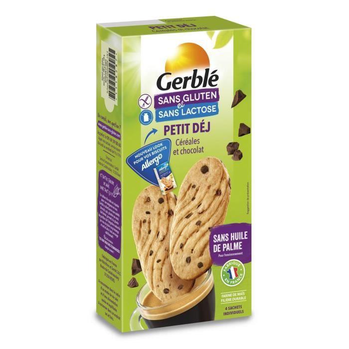 ALLERGO Biscuits Petit déjeuner céréales et pépites de chocolat - 200 g