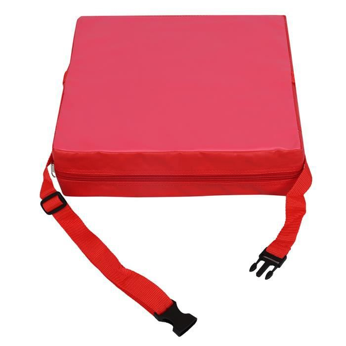 Chaise Haute Portable R/éhausseur Coussin de Si/ège Souple R/églable pour B/éb/é Enfant