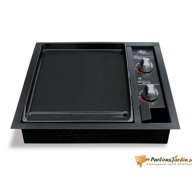 barbecue plancha encastrer au gaz coslada 2 achat vente barbecue barbecue plancha. Black Bedroom Furniture Sets. Home Design Ideas