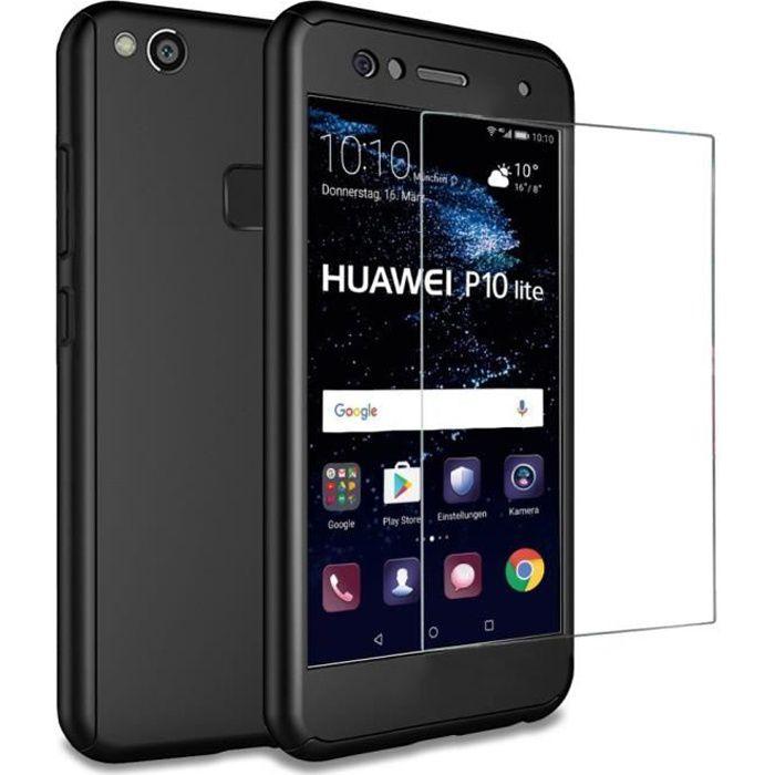 Coque Huawei P10 Lite PC Matte Finish Verre Trem