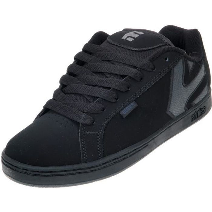 Chaussures skateboard Fader black dirty wash
