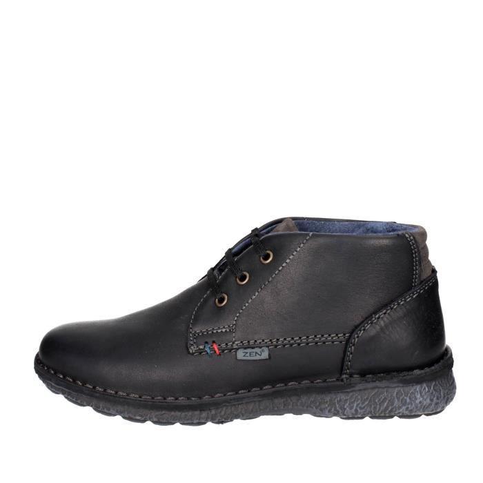 Homme Zen À Vente Achat Chaussures Lacets Noir Noir44 A35RLj4