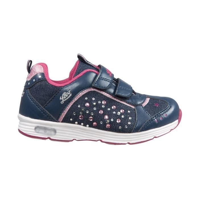 Chaussures Lico Shine V Blinky Marinepink