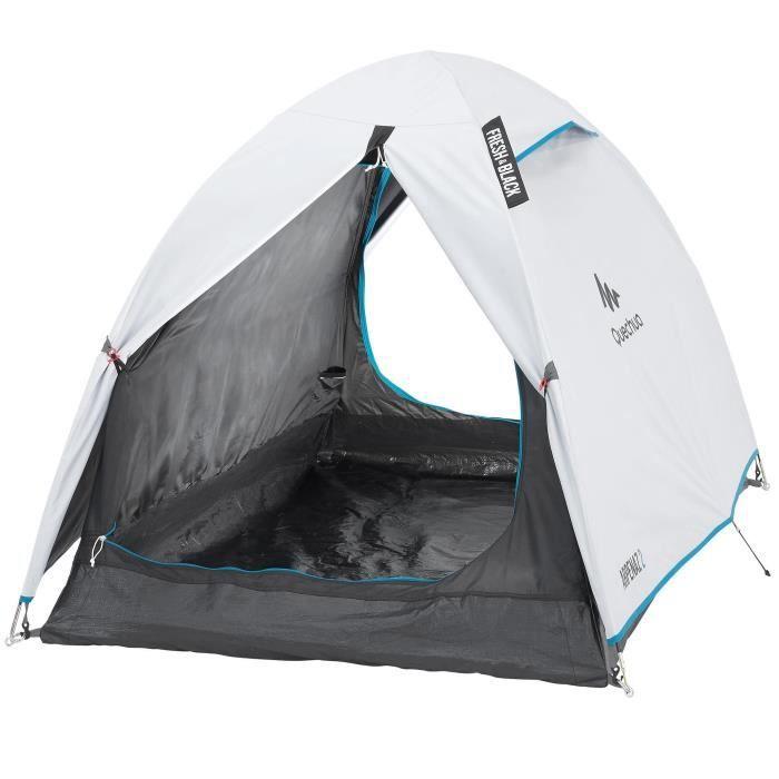 Tente De Camping Arpenaz Fresh Black 2 Personnes Quechua By Decathlon Prix Pas Cher Cdiscount