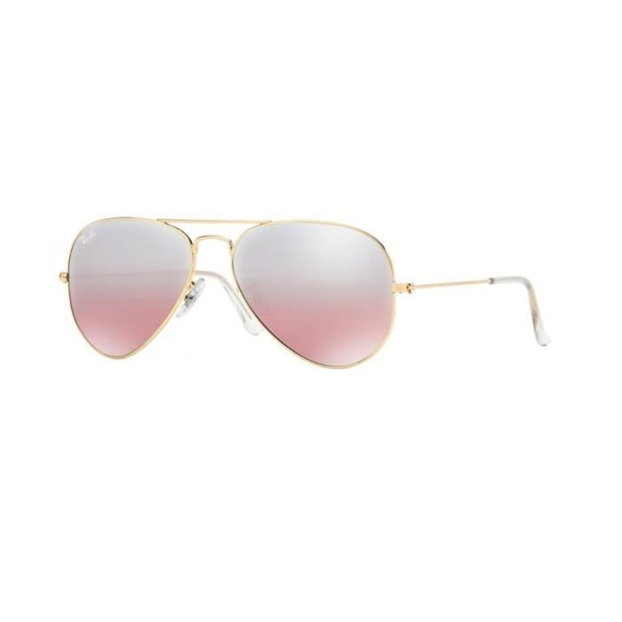 8306b3149957a1 Lunettes de soleil Ray-Ban Homme AVIATOR LARGE METAL RB3025 001 3E Or 58 x  50,1