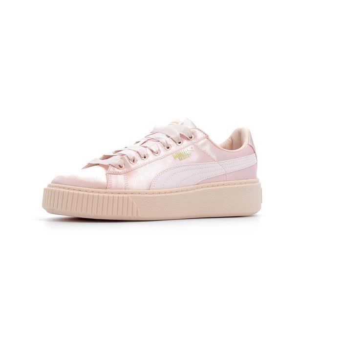 Baskets basses Puma Basket Platform Tween