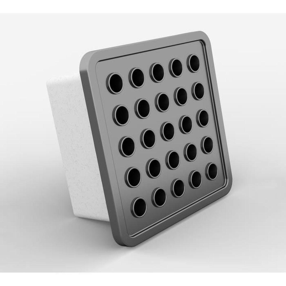 Air Vent Grille Avec Moustiquaire Montage Cadre et obturateur Conduit Ventilation Housse