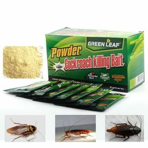 PRODUIT INSECTICIDE LOT 10 sachets GREEN LEAF ANTI CAFARDS ANTI BLATTE
