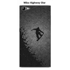 COQUE - BUMPER Coque Wiko Highway Star design Lost in the sky Bla