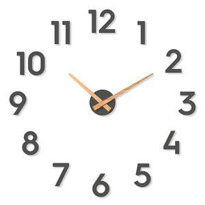 Cander Berlin MNU 7235 Horloge Murale Vintage en Panneau MDF avec m/écanisme Silencieux /Ø 35 cm