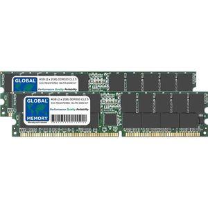 MÉMOIRE RAM 4Go (2 x 2Go) DDR 333MHz PC2700 184-PIN ECC REGIST