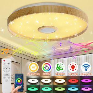 17,5 W RGB DEL Lustre Variateur Lustre Mulitcolor Télécommande hauteur 149 cm