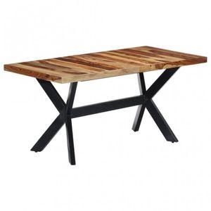 TABLE BASSE Table 160x80x75 cm Bois de Sesham massif - CS24743