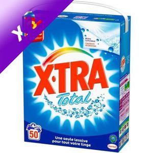 LESSIVE XTRA Lessive Total - 50 Lavages (Lot de 2)