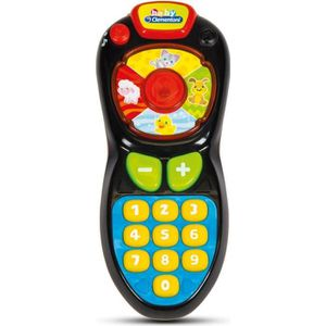 TABLE JOUET D'ACTIVITÉ CLEMENTONI Baby - La télécommande de Bébé - Jeu d'