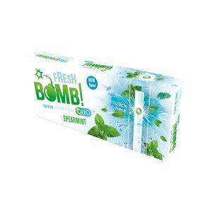 TUBE À CIGARETTE Boite de 100 Tubes à Capsules  Fresh Bomb! Duo - S