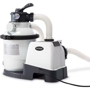 POMPE - FILTRATION  Intex Pompe de filtration à sable Krystal Clear 26