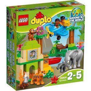 ASSEMBLAGE CONSTRUCTION LEGO® DUPLO® Ville 10804 La Jungle