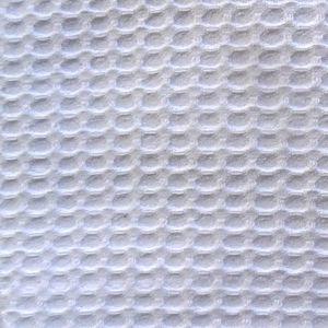 SERVIETTES DE BAIN Nid d'abeille blanc au mètre