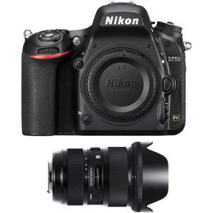 PACK APPAREIL RÉFLEX Nikon D750 Nu + Sigma 24-35mm f/2 DG HSM Art