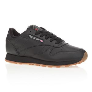 BASKET REEBOK Baskets Classic Leather - Femme - Noir
