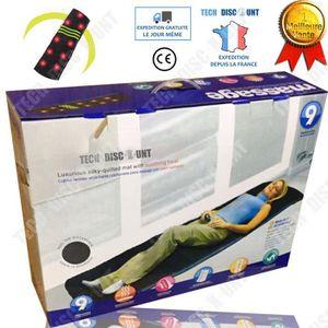 APPAREIL DE MASSAGE  TD® Tapis de massage électrique dos infrarouge shi