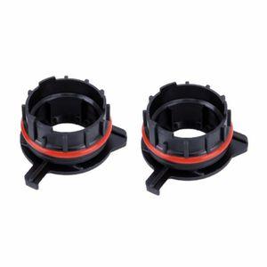 PHARES - OPTIQUES 1 paire TK-124 H7 LED adaptateur de support retenu