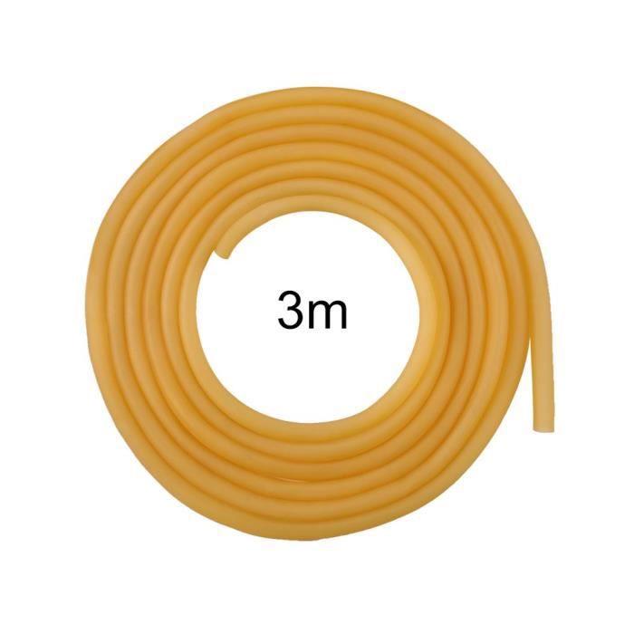 Tube Élastique en Latex Naturel 6 x 9 mm pour Chasse Ou La Compétition Ou Accessoire 3M
