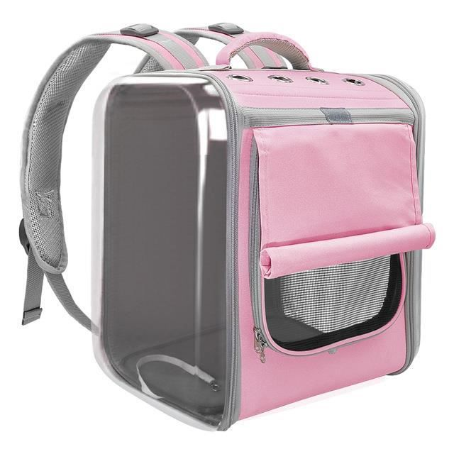Sac à dos respirant pour chat, sac à bandoulière extérieur pour petits chiens et chats