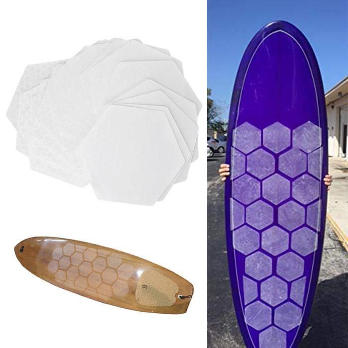 Tapis adhésif de planche de surf en silicone, tapis antidérapant de planche de surf, tapis de planche de surf, planche courte pour