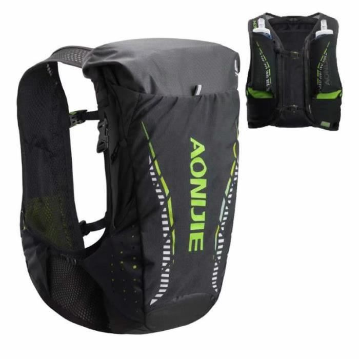 TM17779-Veste d'hydratation 18L Ultra Trail Running Sac à Dos Pack Veste Marathon Veste De Course Coureur en Plein Air - Seul