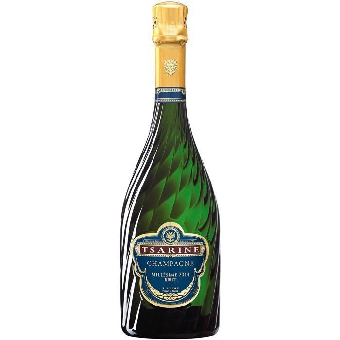 Champagne Tsarine - Millesime 2015 – 75 cl