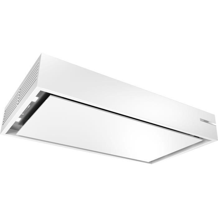 bosch - hotte plafond 105cm 68db 580m3-h blanc - drr16aq20