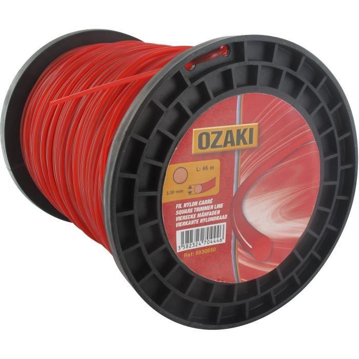 Bobine fil nylon rond OZAKI - Longueur: 240m, Ø: 3,00mm