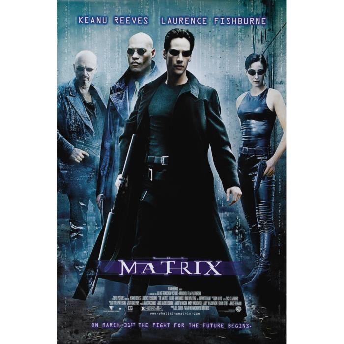 Poster Affiche The Matrix Affiche Film Keenu Reeves Cinema 91cm x 137cm